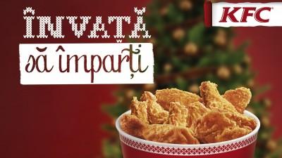 Invata sa imparti: fiecare Xmas Variety Bucket de la KFC aduce o sansa copiilor de la SOS Satele Copiilor