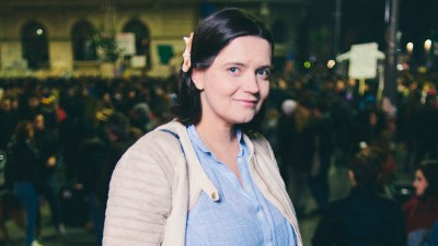 Ana-Maria Caia si generatia anti-prostie: Copilul meu de 10 ani n-a ratat niciun mars. Sper ca ei sa fie alti oameni