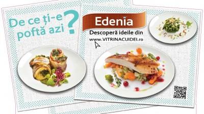 """""""Vitrina cu idei"""" – o noua campanie semnata Foodwise Marketing pentru brandul Edenia"""
