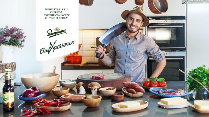 V8 Interactive te invita sa gatesti impreuna cu Chef Foa pentru berea Staropramen