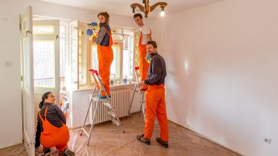 Voluntarii savana au renovat o casa pentru SOS Satele Copiilor Romania