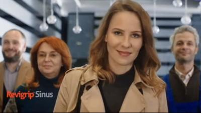 GMP Advertising a lansat primul spot publicitar pentru Revigrip Sinus