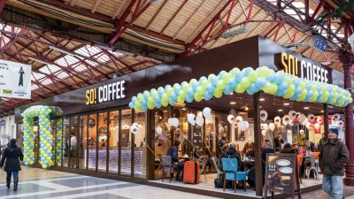 Lagardère Travel Retail deschide o noua locatie So! Coffee, in Gara de Nord din Bucuresti