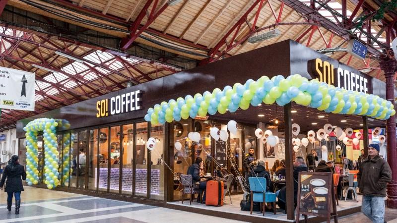 Lagardère Travel Retail deschide o noua locatie So! Coffee,in Gara de Nord din Bucuresti