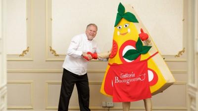 Smite a inventat-o pe haioasa Bufalina special pentru restaurantele Trattoria Buongiorno