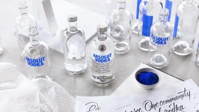 Un nou design pentru o sticla cu istorie: Absolut Vodka