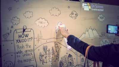 Doodle Magic Board: un nou tool de marketing marca OnScreen