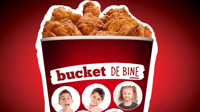 """Rezultatele campaniei KFC - """"Bucket de bine"""": 50.000 de euro si o noua casa sponsorizata la SOS Satele Copiilor Romania"""