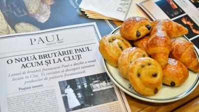 Lantul de brutarii Paul a deschis o noua locatie in Cluj-Napoca