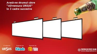 "Inscrie-te in competitia de creatie Young FIBRA si arata-ne drumul catre ""ADventura URSUS"" in 3 cadre succesive"