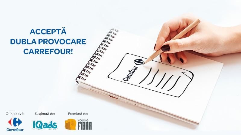 Esti tanar creativ? Atunci accepta dubla provocare Carrefour si inscrie-te in competitia Young FIBRA