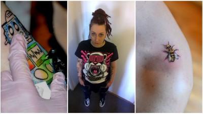 [Arta pielii] Cristina Apostol: Dupa doi ani de tatuat in timpul liber, mi-am dat demisia de la stiri si am devenit tatuator full-time
