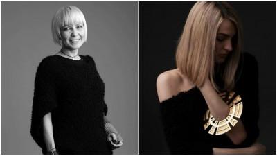 Contabil-devenit-designer cu 30 de colectii la activ: Andreia G. Popescu
