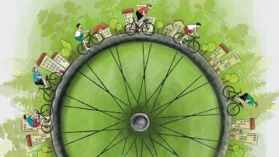 Peste 40 de orase din Romania participa la Ora Pamantului. In Bucuresti si in tara vor domina biciclistii