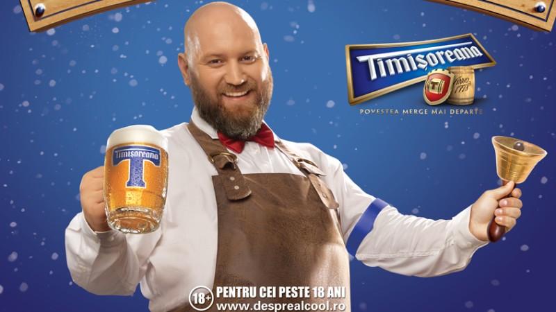 """Foodwise Marketing a semnat campania """"Cu Timisoreana te cinstesti si prima de sarbatori primesti!"""""""