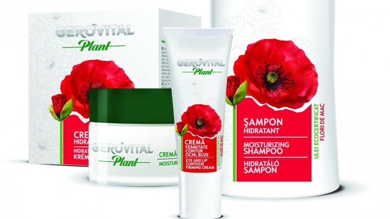 Noua gama Gerovital Plant – secretul frumusetii romancelor