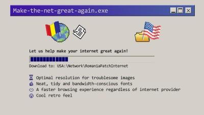 Sa-i dam Americii internetul grandios de altadata! O poveste extinsa pe Chrome ce se scrie cu fiecare download