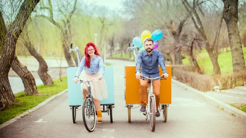 Triciclete upgradate in folosul comunitatii petrecarete
