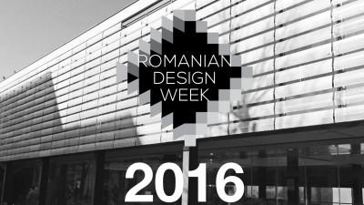 Expozitia centrala Romanian Design Week va fi organizata in Piata Amzei