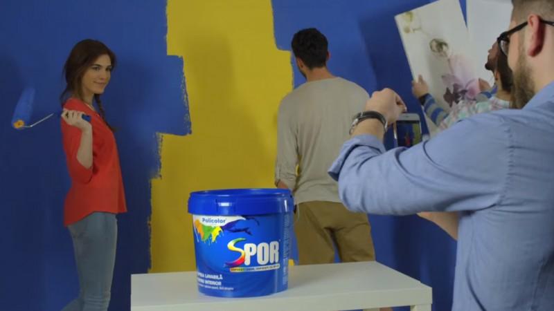 """Policolor lanseaza o noua campanie de comunicare pentru brandul SPOR, cu noul spot TV """"Usor cu SPOR"""""""