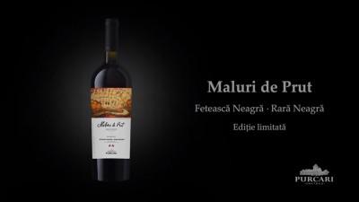 """Vinaria Purcari a lansat vinul """"Maluri de Prut"""""""