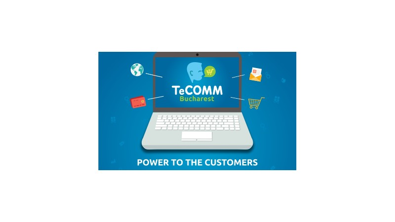 eCommerce 2016: Despre arhitectura informatiei, prototipuri de raspuns, design pentru interfata cu clientii, copywriting si nu numai in cadrul TeCOMM Bucuresti