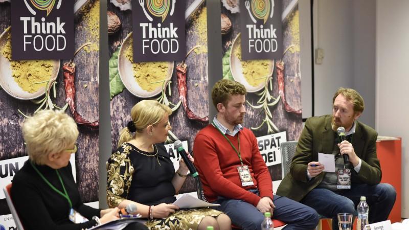 Prima zi a evenimentelor ThinkFood a adus impreuna toti actorii implicati in lantul alimentar