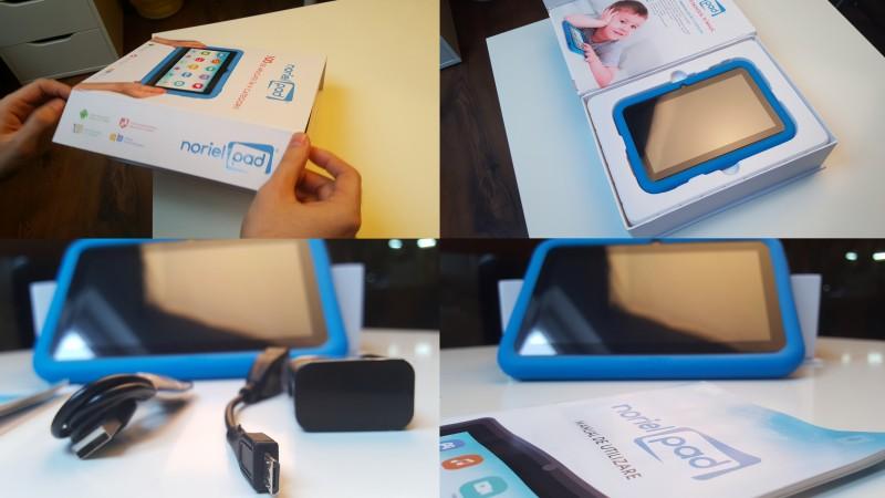 Grapefruit si Noriel lanseaza tableta Noriel Pad special conceputa pentru copii