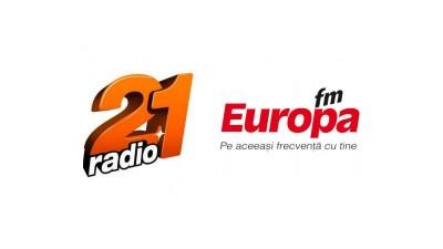 Radio 21 si Europa FM – doua branduri noiin portofoliul Rusu+Bortun