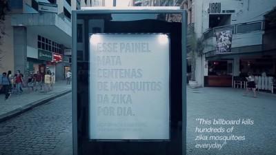 Billboarduri care lupta cu virusul Zika