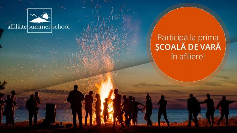 Affiliate Summer School, prima scoala de vara in marketing afiliat din Romania