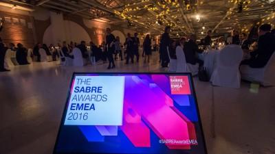 PR-ul romanesc, premiat in 4 randuri la EMEA SABRE Awards 2016 si In2 SABRE Awards EMEA