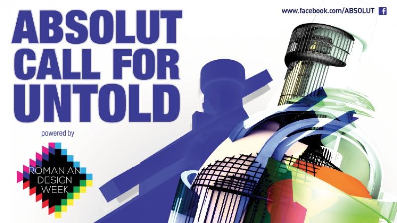 Partener Romanian Design Week, ABSOLUT lanseaza o competitie pentru set-up-ul de baruri Absolut Vodka / Jameson / Ballantine's Brasil de la UNTOLD 2016