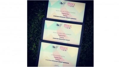 "Starcom MediaVest Group, singura agentie romaneasca premiata la IAB MIXX AWARDS EUROPE 2016.3 Trofee pentru campania ""Ora de creativitate"""