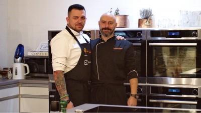 Chef Paul Siserman si Chef Liviu Lambrino, ambasadorii Electrolux la prima editie a Bucharest Gourmet Festival