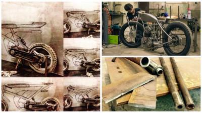 Metal craft, design de motociclete si alte vicii din viata lui Andrei Hotoleanu