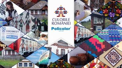 """Policolor lanseaza proiectul """"Culorile Romaniei"""", editia II.12 tone de materiale donate catre 13 proiecte din toata tara in 2016"""