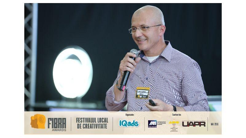 [Conferintele FIBRA] Marian Costache (MVcom): Stimularea multisenzoriala in comunicare inca este un element aspirational