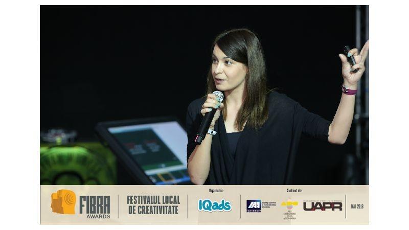 [Conferintele FIBRA] Andreea Strachina (Kaleidoscope Proximity): Daca folositi big data, nu inseamna ca oamenii nu mai simt emotia
