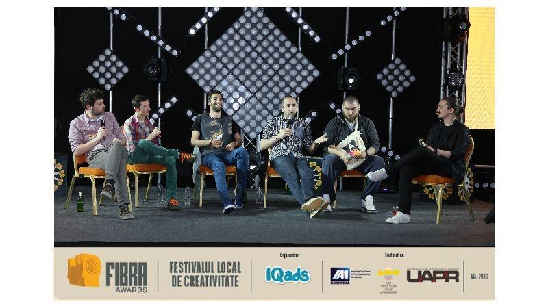 [Serile de Creativitate FIBRA] Stand-up comedy la FIBRA cu cinci capete de afis: Raul Gheba, George Bonea, Shurubel, Vio si Micutzu