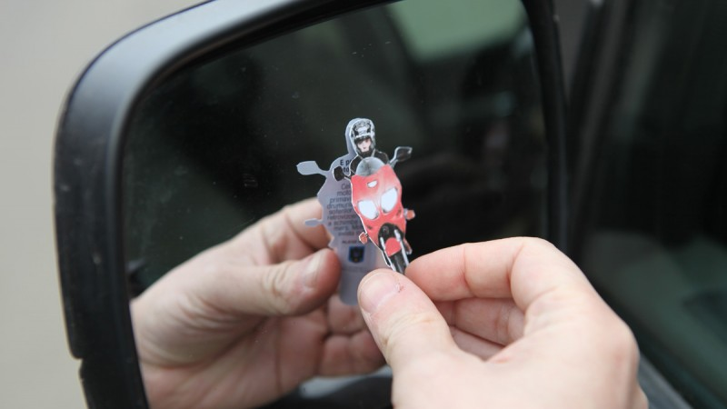 [Case Study] Next Advertising - Motorcyclist in the mirror / Romanian Traffic Police / Romanian Traffic Police