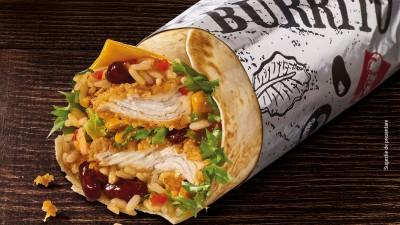 KFC lanseaza un nou sandvis: Burrito, prea gustos ca sa-l mananci frumos