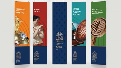 Palatul Culturii Iasi: Branding de muzeu creat de Bloom Communication