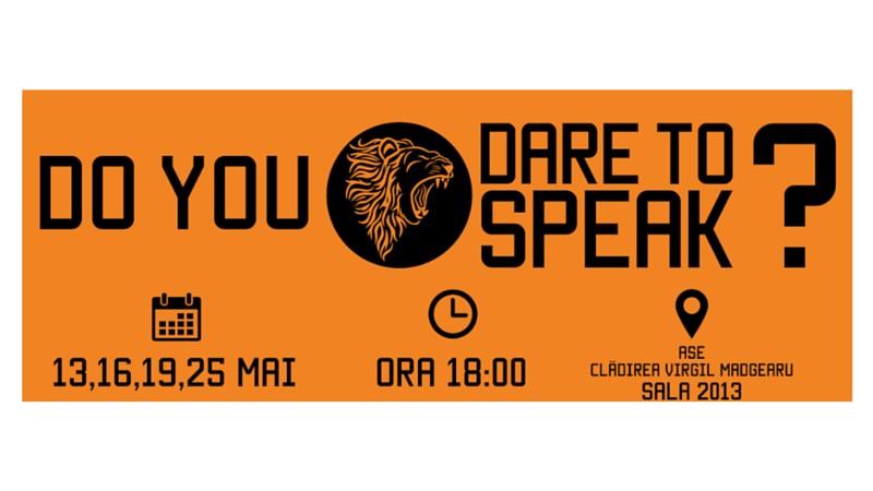 Dare to Speak 2016. Do you?