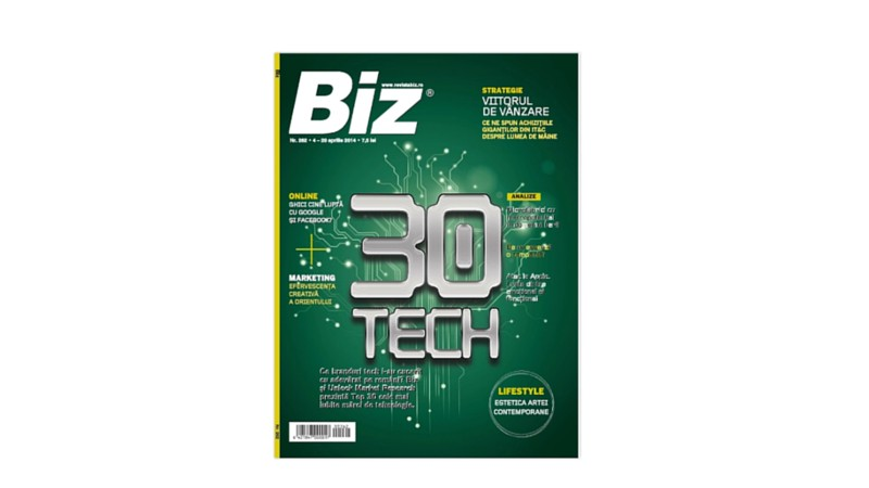 [Premiile FIBRA #1] Bronze FIBRA - GMP Group - The Print Ad That Backed Up Its Own Magazine / Secure Back-up and Recovery / Romtelecom Business
