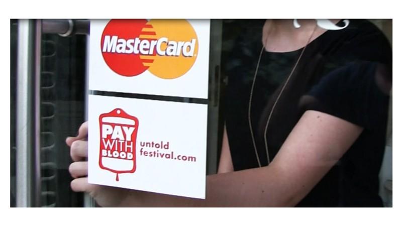 [Premiile FIBRA #1] Silver FIBRA - McCann - Pay with blood / UNTOLD / UNTOLD