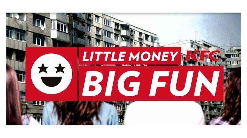 [Premiile FIBRA #1] Gold FIBRA - McCann - Little money, big fun / KFC / KFC Romania