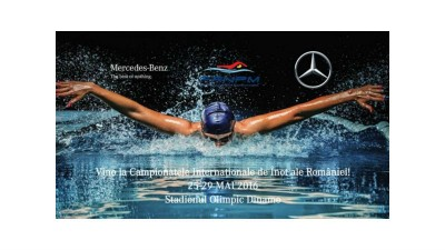 Mercedes-Benz a lansat stafeta de suporter pentru a incuraja inotatorii romani