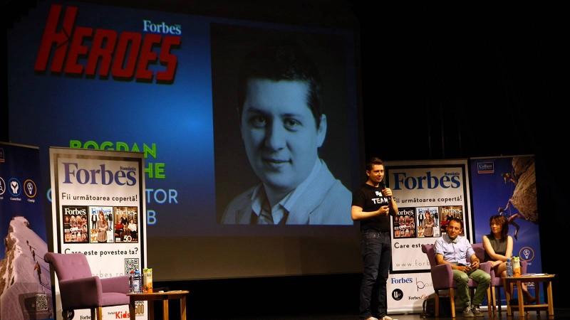 Forbes Heroes aduce pe scena a treia generatie de eroi