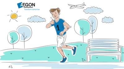 AEGON  Transform tomorrow   whiteboard animation